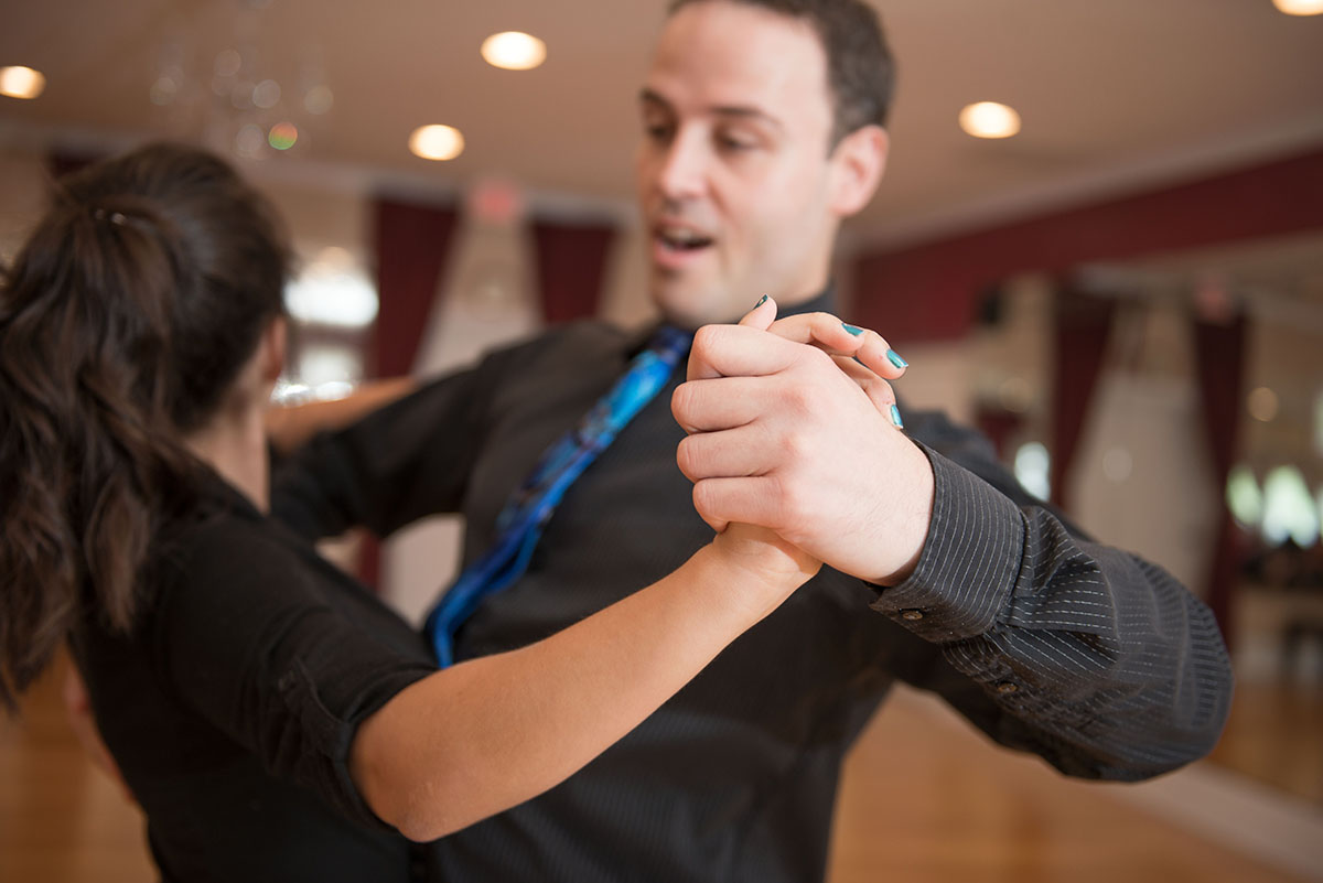 Enroll to a dance class or to a course that both of you will love.